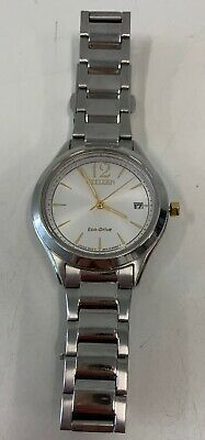 CITIZEN Eco-Drive Womens 32mm Stainless Steel silver-tone Watch FE6124-51A