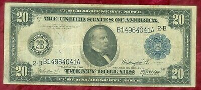 Fr 968-Series of 1914 New York, NY $20.00 Federal Reserve Note