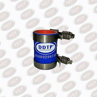 """Silicone Hose 1.75""""X3.25"""" 4-Ply W/ CT Clamps for Detroit Diesel S60 Water Pump"""