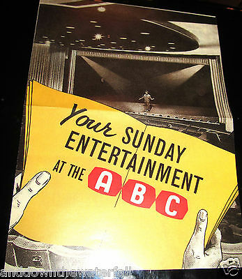 Old BEATLES Concert Programme ABC Great Yarmouth Paul McCartney Vintage Sixties