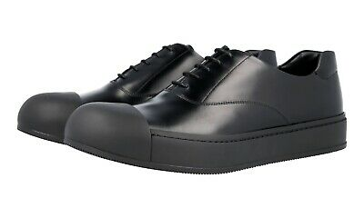 1231ead37112a6 PRADA MEN'S SHOES authentic PRADA fall 2016 season new runway BLACK ...