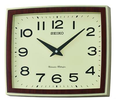 Seiko Dual chime (Westminster/Whittington) Wall Clock QXD211S