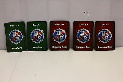 Blood Bowl Blitzmania Special Play Cards (Set of 5 Cards) (U-B3S4 231039)