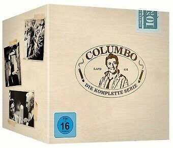 Columbo Gesamtbox [EURO-Version, Regio 2] - Peter Falk DVD (35) NEU