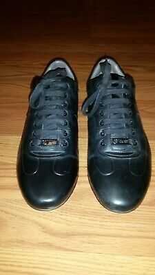 26b3ed33c1b HUGO BOSS Mercedes Benz Black Size Men s 10 Eur 43 Leather Trainers Sneakers