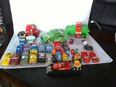 Mixed Lot of 38 Preowned Disney Pixar CARS Cars part 3 Movie Characters Toys
