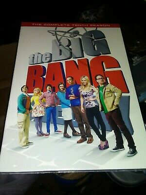 Big Bang Theory: The Complete Tenth Season (DVD, 2017) New!!