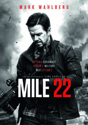 Mile 22 (DVD 2018) Brand New Sealed fast shipping