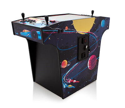 "Used: ""Space Race"" Cocktail Arcade Machine With 250+ Arcade Classics"