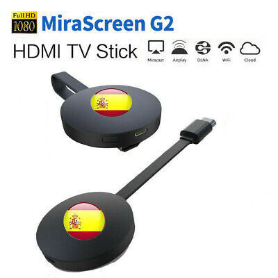 Mirascreen Wireless Hdmi Display Dongle Media Video For Google Chromecast G2