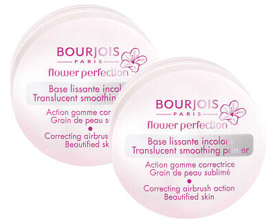BOURJOIS FLOWER PERFECTION SMOOTHING PRIMER x 2 pack