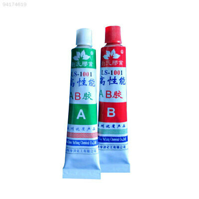 34BD A+B Resin Adhesive Glue with Stick Spatula For Super Bond Metal Plastic
