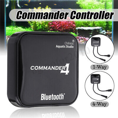 4-Way Chihiros bluetooth LED Light Dimmer APP Controller For Aquarium Tank