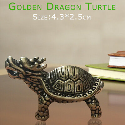 Longevity Dragon Table Ornaments Turtle Statue Home Furnishing Crafts Feng Shui
