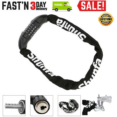 Blusmart 900 mm Bike Lock Anti-theft Bicycle Chain Lock Heavy Duty Security UK
