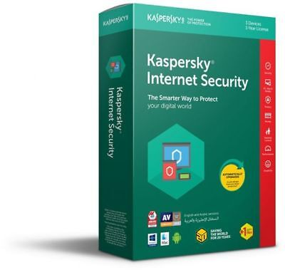KASPERSKY Internet Security 2018-2019 1 Pc1 Year | Instant Delivery| no need VPN