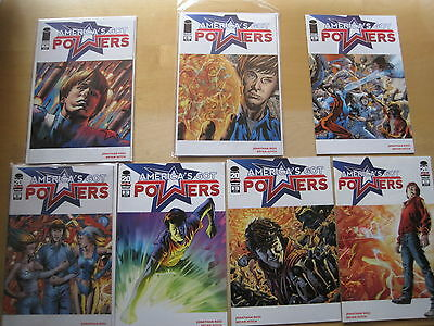 AMERICA'S GOT POWERS : COMPLETE 7 ISSUE SERIES by ROSS & BRYAN HITCH.IMAGE.2013
