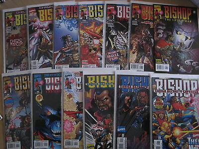 BISHOP : COMPLETE RUN of ISSUES 1,2,3,4,5,6,7,8,9,10,11,12,13.1998 SERIES.MARVEL