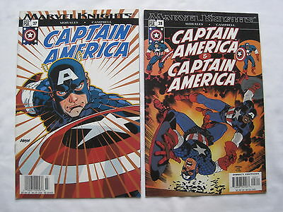 "CAPTAIN AMERICA : ""REQUIEM"" : COMPLETE 2 ISSUE STORY in #s 27,28. MARVEL. 2004"