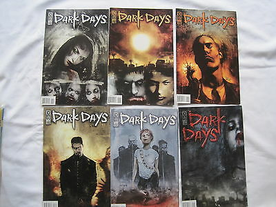 DARK DAYS : COMPLETE 6 ISSUE SERIES by NILES & TEMPLESMITH. VAMPIRES. IDW.  2003