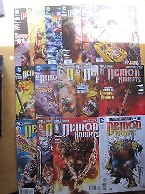 DEMON KNIGHTS : Complete run #s 0,1,2,3,4,5,6,7,8,9,10,11,12,13,14.DC THE NEW 52