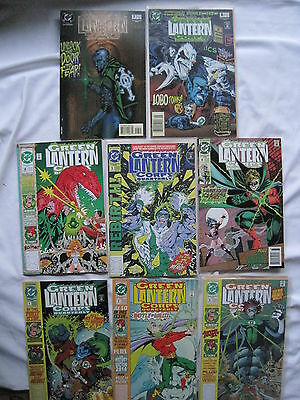Green Lantern Corps Quarterly : Complete 8 Giant Size Issue Series. 1992. Dc