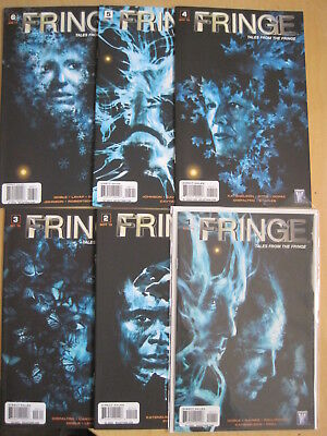FRINGE : TALES FROM THE FRINGE, COMPLETE 6 issue 2010 WILDSTORM series. CULT TV