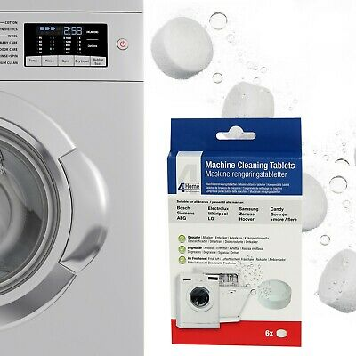 Washing Machine & Dishwasher Cleaning, Descaling Tablets For Hoover, Candy x 6