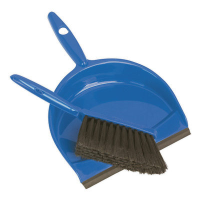 BM04 Sealey Dustpan & Brush Set Composite [Janitorial]