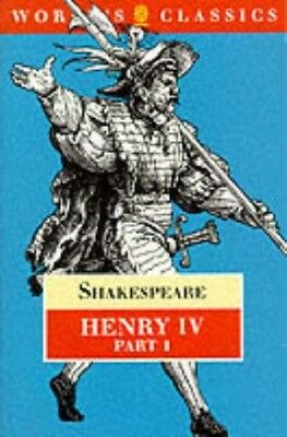 Very Good, King Henry IV: Pt. 1 (The Oxford Shakespeare), Shakespeare, William,
