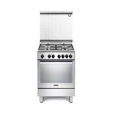 DeLonghi PEMX 64 cucina Freestanding cooker Stainless steel Gas A