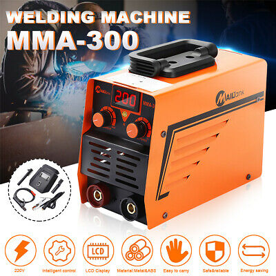 300AMP ARC Welder Inverter 240V Portable LCD Welding Stick Machine IGBT + Mask