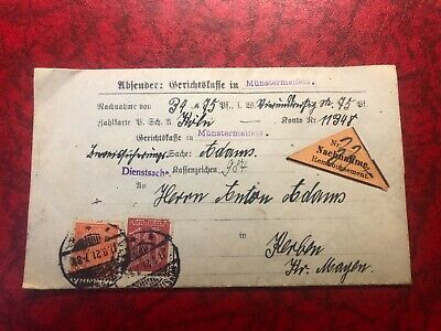 Outstanding Germany official cover From 1921