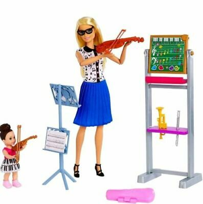 Barbie Career Music Teacher Doll Playset with Student