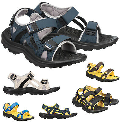 Mens MIG Hiking & Trail Adjustable Sport Sandals Size 6 to 11 UK - TRAVEL CASUAL