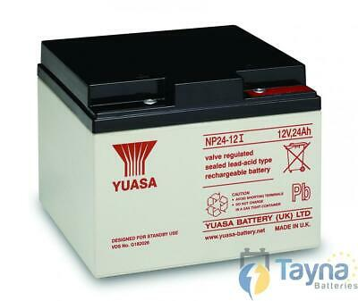 Yuasa NP24-12 Valve Regulated Lead Acid (VRLA) Batterie 12V 24Ah