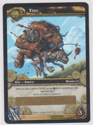 """World Of Warcraft Wow """" Tiny """" Loot Card Unscratched"""