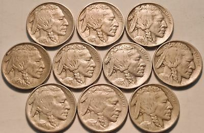 *awesome Buffalo Nickel Collection 1913-38! *17 Awesome Keys! *51 Total Coins!