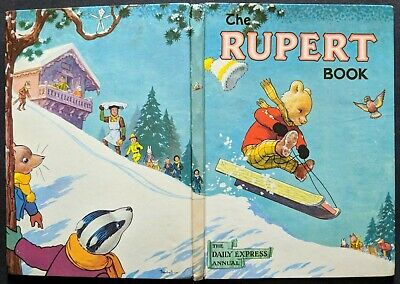 Rupert Annual 1956...original....not Inscribed Or Price-Clipped.....a Super Book
