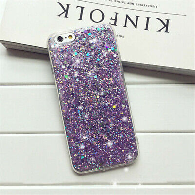 Bling Glitter Full Sparkle Protective Cute Slim Fit Phone For iPhone Cover Case