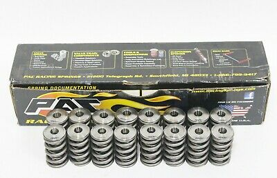 "PAC Racing RPM Series LS Double Valve Springs PAC-1238X-16 .750"" Max LIft Used"