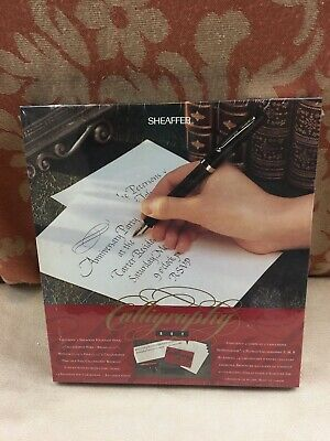 New Old Stock Sheaffer Calligraphy Set