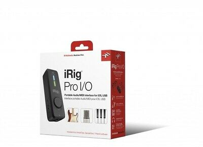 IK Multimedia iRig Pro I/O High Definition Audio Interface For iOS Mac