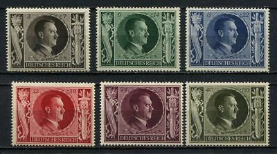 """GERMANY (REICH) - 1943 MNH """"Hitler's Birthday"""" Complete Set !!!"""