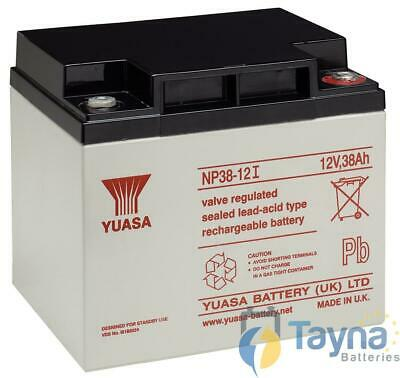Yuasa NP38-12 Valve Regulated Lead Acid (VRLA) Batterie 12V 38Ah