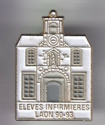 Rare Pins Pin's .. Ong Medecine Medical Infirmiere Nurse Eleve Ecole Laon 02 ~Ed