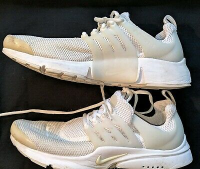 official photos ea2aa d87b7 Nike 2016 Air Presto Flyknit Ultra Men s Shoes All White Size 13