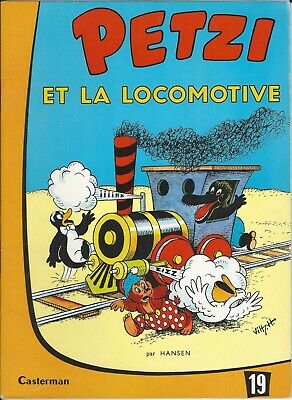 PETZI: album Casterman broché: Petzi et la locomotive (19)