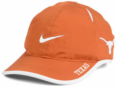 brand new 0d92b f51d0 Texas Longhorns NEW Nike NCAA Featherlight Fashion Cap Hat 846856 One Size   28
