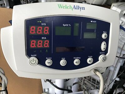 Welch Allyn 53NTO Vital Signs Monitor 300 Series SpO2, Temp & NIBP.